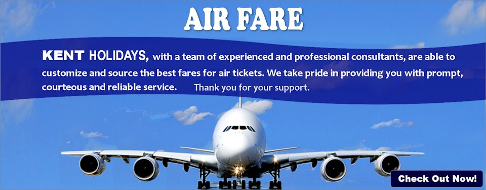 Special Air Fare Promotion