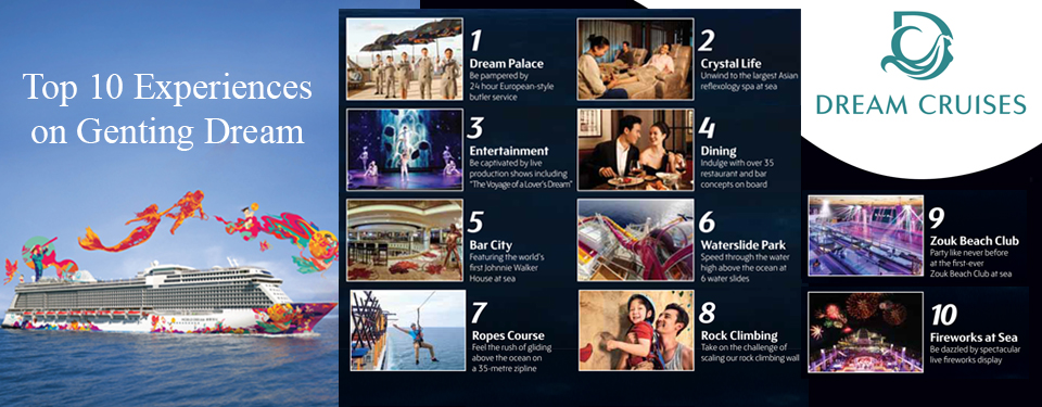 Set sail on Asia's Favourite Cruise Line...